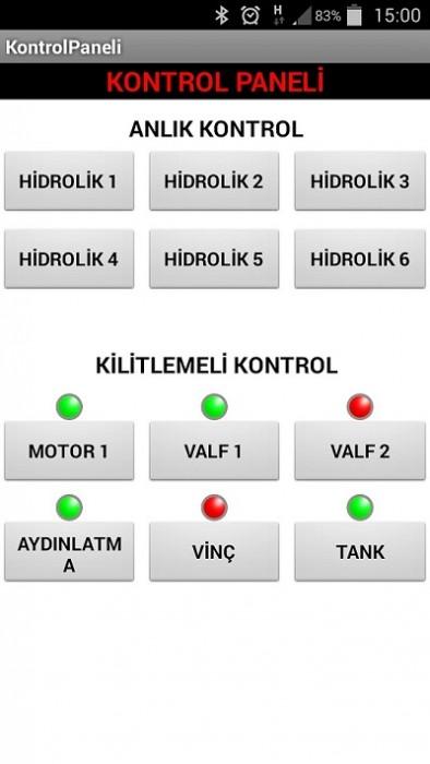 android kontrol